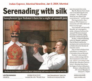IGOR Article At Mumbai Newsline Mumbai India Pg 2